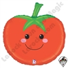 25 Inch Shape Produce Pals Tomato Foil Balloon Betallatex 1ct