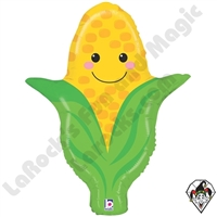 27 Inch Shape Produce Pals Corn Foil Balloon Betallatex 1ct
