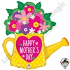 32 Inch Shape Mother's Day Garden Watering Can Foil Balloon Betallatex 1ct