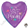 23 Inch Dimensional Mother's Day Hearts Foil Balloon Betallatex 1ct