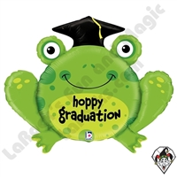 29 Inch Dimensional Hoppy Graduation Foil Balloon Betallatex 1ct