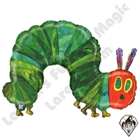 43 Inch Shape The Very Hungry Caterpillar Foil Balloon Betallic 1ct