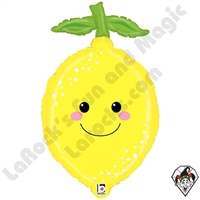 29 Inch Shape Produce Pals Lemon Foil Balloon Betallatex 1ct