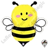34 Inch Shape Just Bee Foil Balloon Betallatex 1ct