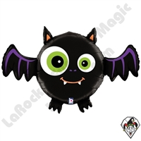 28 Inch Dimensional Bat Foil Balloon Betallatex 1ct