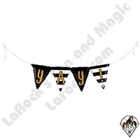 40 Inch Shape YAY! Bunting Foil Balloon Betallatex 1ct