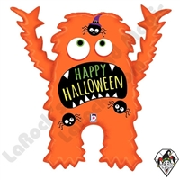 37 Inch Shape Halloween Monster Foil Balloon Betallatex 1ct