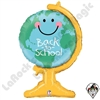 33 Inch Shape Back To School Globe Foil Balloon Betallatex 1ct