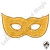 51 Inch Shape Gold Glitter Mask Foil Balloon Betallatex 1ct