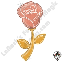 60 Inch Shape Fresh Picks Rose Gold Rose Foil Balloon Betallic 1ct