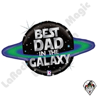 31 Inch Shape Galactic Dad Foil Balloon Betallatex 1ct