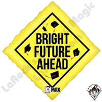 18 Inch Diamond Bright Future Ahead Foil Balloon Betallatex 1ct