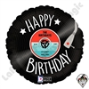 18 Inch Round Record Birthday Foil Balloon Betallatex 1ct