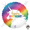 18 Inch Shape Glitter Unicorn Birthday Foil Balloon Betallatex 1ct