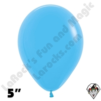 5 Inch Round Fashion Blue Betallatex 100ct