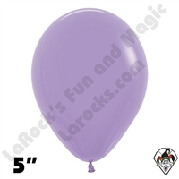 5 Inch Round Deluxe Lilac Betallatex 100ct