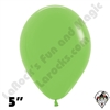 5 Inch Round Deluxe Key Lime Betallatex 100ct