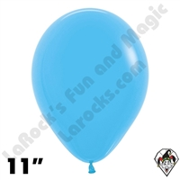 11 Inch Round Fashion Blue Betallatex 100ct