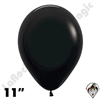 11 Inch Round Deluxe Black Betallatex 100ct