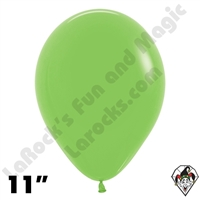 11 Inch Round Deluxe Key Lime Betallatex 100ct