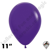 11 Inch Round Fashion Violet Betallatex 100ct