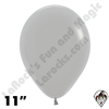 11 Inch Round Deluxe Gray Betallatex 100ct