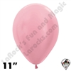 11 Inch Round Pearl Pink Betallatex 100ct