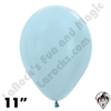 11 Inch Round Pearl Blue Betallatex 100ct