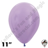 11 Inch Round Pearl Lilac Betallatex 100ct