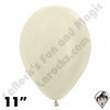 11 Inch Round Pearl Ivory Betallatex 100ct