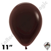 11 Inch Round Deluxe Chocolate Brown Betallatex 100ct