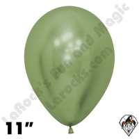 11 Inch Round Reflex Key Lime Betallatex 50ct