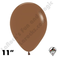 11 Inch Round Deluxe Coffee Betallatex 100ct