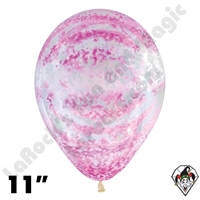 11 Inch Round Graffiti Rose Betallatex 50ct