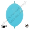 Betallatex 12 Inch Fashion Blue Link O Loon 50ct
