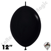 Betallatex 12 Inch Deluxe Black Link O Loon 50ct