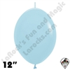 12 Inch Fashion Light Blue Link-O-Loon Betallatex 50ct (AKA Pastel Blue)