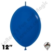 Betallatex 12 Inch Fashion Royal Blue Link O Loon 50ct