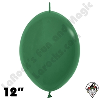 Betallatex 12 In Fashion Forest Green Link O Loon 50ct