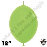 Betallatex 12 Inch Deluxe Key Lime Link O Loon 50ct