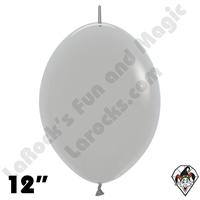 Betallatex 12 Inch Deluxe Gray Link O Loon 50ct