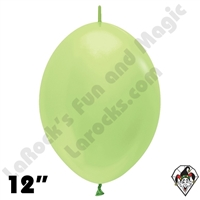 Betallatex 12 Inch Pearl Key Lime Link O Loon 50ct