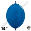 Betallatex 12 Inch Metallic Blue Link O Loon 50ct