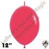 12 Inch Deluxe Raspberry Link-O-Loon Betallatex 50ct