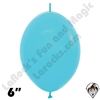 Betallatex 6 Inch Fashion Blue Link O Loon 50ct