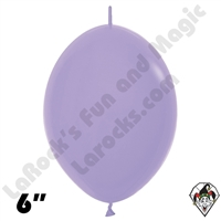 Betallatex 6 Inch Deluxe Lilac Link O Loon 50ct