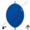 Betallatex 6 Inch Fashion Royal Blue Link O Loon 50ct