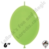 Betallatex 6 Inch Deluxe Key Lime Green Link O Loon 50ct