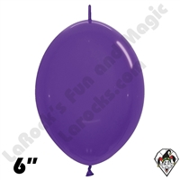 Betallatex 12 Inch Crystal Violet Link O Loon 50ct