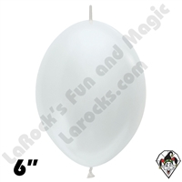 Betallatex 6 Inch Pearl White Link O Loon 50ct